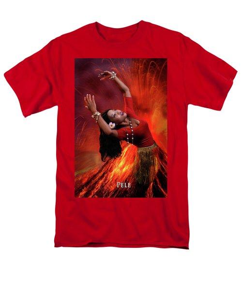 Goddess Pele Men's T-Shirt  (Regular Fit) by David Clanton