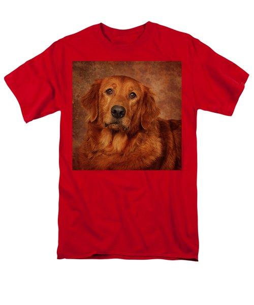 Golden Retriever Men's T-Shirt  (Regular Fit) by Greg Mimbs