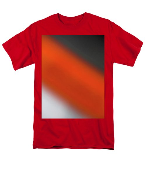 Men's T-Shirt  (Regular Fit) featuring the photograph Gray Orange Grey by CML Brown