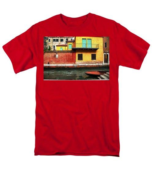 Green Doors Men's T-Shirt  (Regular Fit) by Sharon Jones