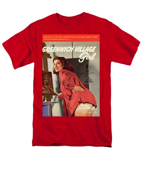 Greenwich Village Girl Men's T-Shirt  (Regular Fit) by Photo Cover