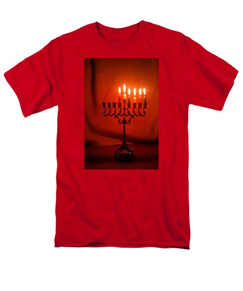 Hanukkah On Fifth Day Men's T-Shirt  (Regular Fit)