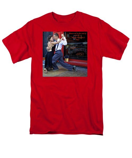 Happy Valentine's Day Men's T-Shirt  (Regular Fit) by Venetia Featherstone-Witty