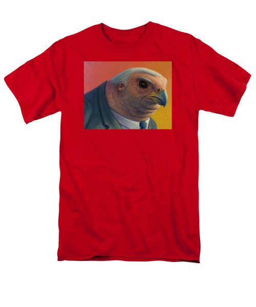 Men's T-Shirt  (Regular Fit) featuring the painting Hawkish by James W Johnson