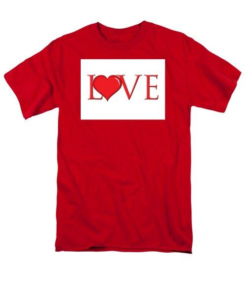 Heart Love Men's T-Shirt  (Regular Fit) by Greg Slocum