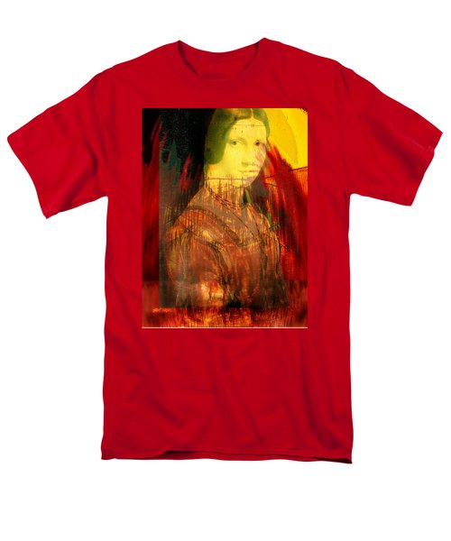 Here Is Paint In Your Eye Men's T-Shirt  (Regular Fit) by Seth Weaver