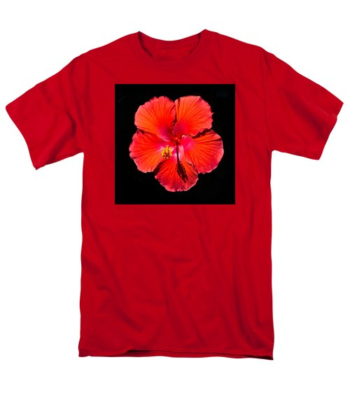 Hibiscus Flower Men's T-Shirt  (Regular Fit) by Kenneth Cole