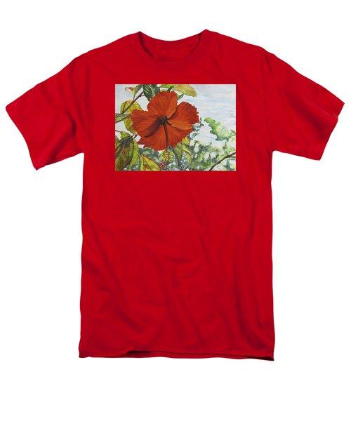 Hibiscus St Thomas Men's T-Shirt  (Regular Fit)