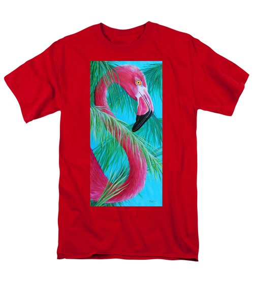 Men's T-Shirt  (Regular Fit) featuring the painting Hidden Treasure by Susan DeLain