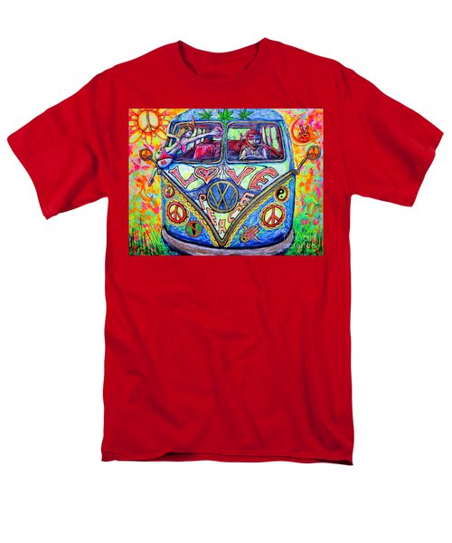 Hippie Men's T-Shirt  (Regular Fit) by Viktor Lazarev