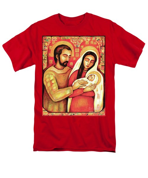Men's T-Shirt  (Regular Fit) featuring the painting Holy Family by Eva Campbell