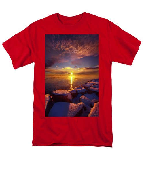 Men's T-Shirt  (Regular Fit) featuring the photograph How Loud The Silence Is by Phil Koch