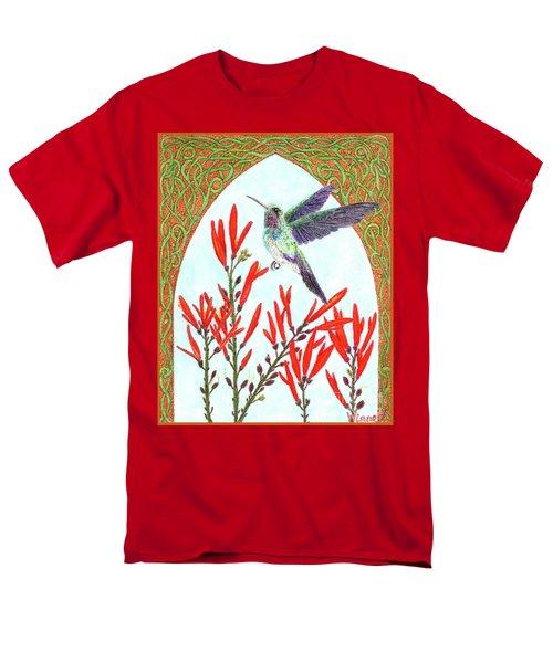 Hummingbird In Opening Men's T-Shirt  (Regular Fit) by Lise Winne
