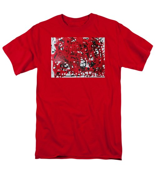 In  The Midst Of Passion Men's T-Shirt  (Regular Fit)