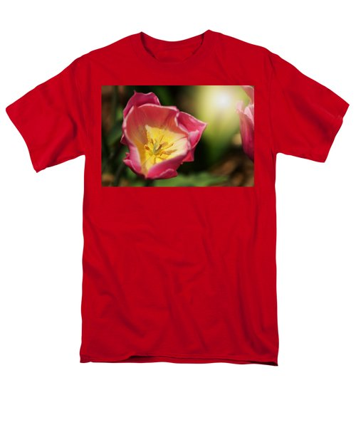 Men's T-Shirt  (Regular Fit) featuring the mixed media Jessica by Trish Tritz