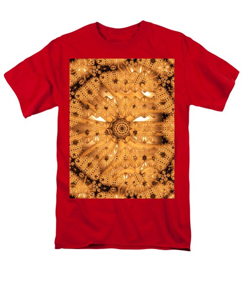Men's T-Shirt  (Regular Fit) featuring the digital art Juxtapose by Ron Bissett