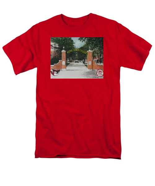 Keene State College Men's T-Shirt  (Regular Fit) by Jack Skinner