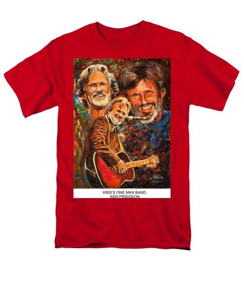 Kris's One Man Band Men's T-Shirt  (Regular Fit) by Ken Pridgeon