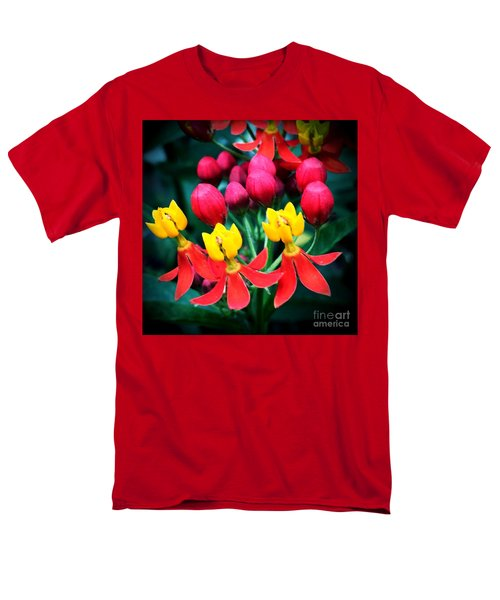 Men's T-Shirt  (Regular Fit) featuring the photograph Ladies In Waiting by Vonda Lawson-Rosa