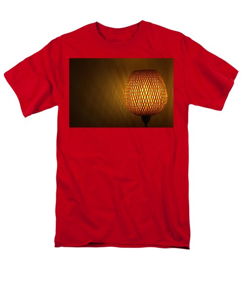 Men's T-Shirt  (Regular Fit) featuring the photograph Lamp by RKAB Works