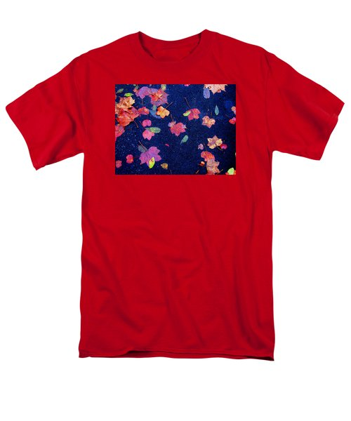 Men's T-Shirt  (Regular Fit) featuring the photograph Leaves by Christopher Woods