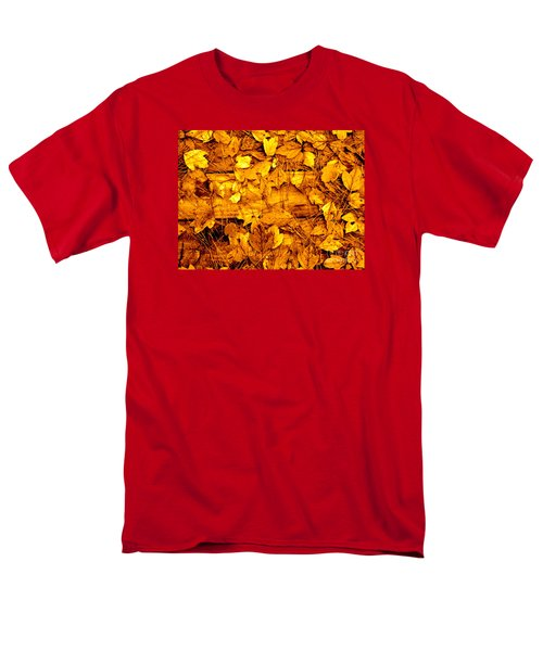 Leaves Of Sepia Men's T-Shirt  (Regular Fit) by Cathy Dee Janes