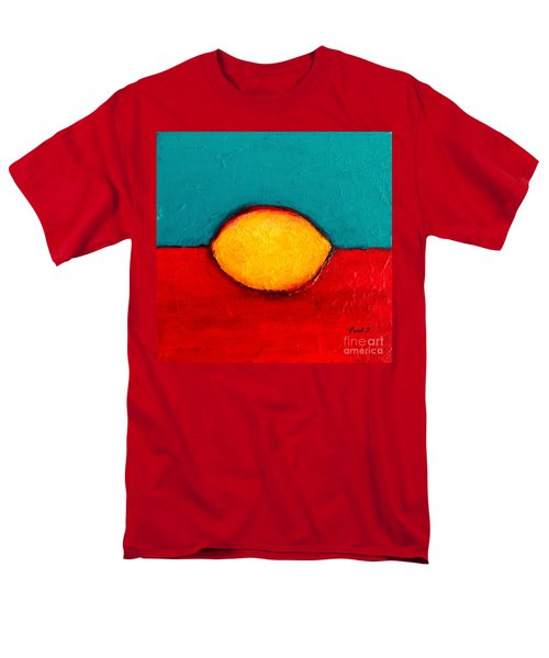 Lemon Men's T-Shirt  (Regular Fit) by Fred Wilson