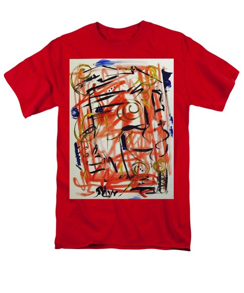 Life Should Be Filled With Spontaneity Men's T-Shirt  (Regular Fit) by Mary Carol Williams