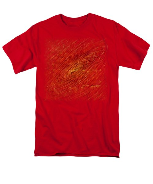 Men's T-Shirt  (Regular Fit) featuring the mixed media Light Years by Sami Tiainen