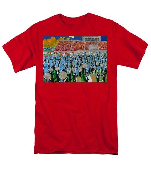 Lincoln Band Men's T-Shirt  (Regular Fit) by Rodger Ellingson