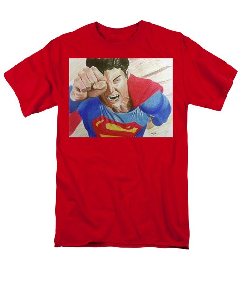 Men's T-Shirt  (Regular Fit) featuring the drawing Lois' Death by Michael McKenzie