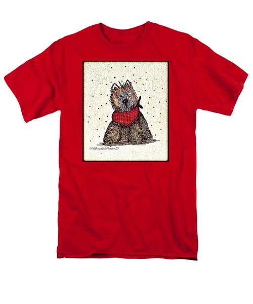 Lola The Dog Men's T-Shirt  (Regular Fit) by MaryLee Parker