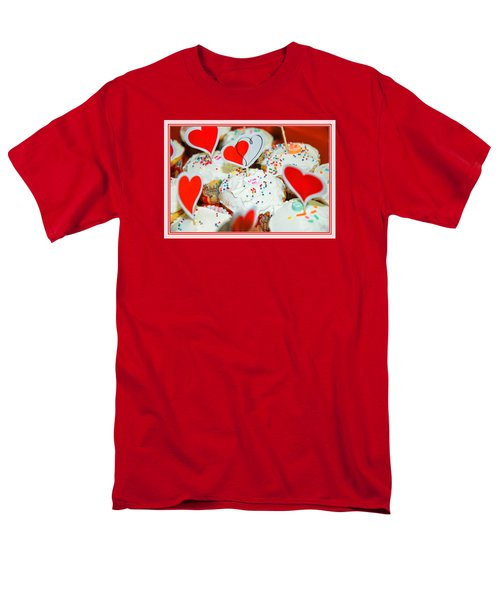 Men's T-Shirt  (Regular Fit) featuring the photograph Love Me by Mary Timman