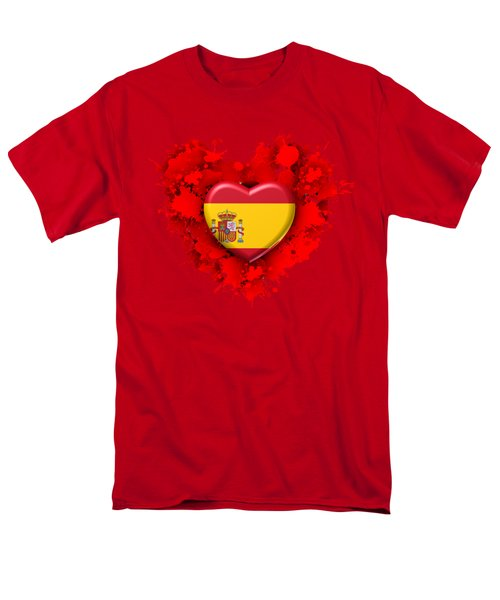 Love Spain Men's T-Shirt  (Regular Fit) by Alberto RuiZ