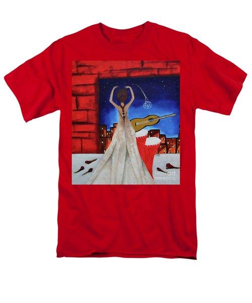 Love To Dance 002 By Saribelle Rodriguez Men's T-Shirt  (Regular Fit) by Saribelle Rodriguez