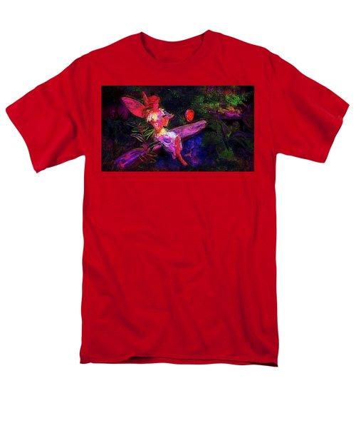 Men's T-Shirt  (Regular Fit) featuring the photograph Luminescent Night Fairy by Lori Seaman