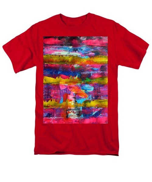 Men's T-Shirt  (Regular Fit) featuring the painting Mad Season by Everette McMahan jr