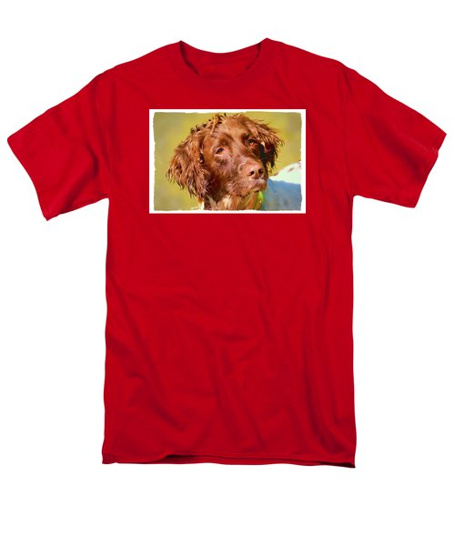 Men's T-Shirt  (Regular Fit) featuring the photograph Maggie 2  by Constantine Gregory