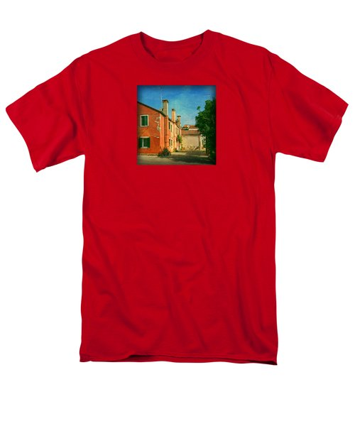 Men's T-Shirt  (Regular Fit) featuring the photograph Malamocco Corner No1 by Anne Kotan