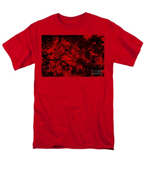 Maple Dance In Red Velvet Men's T-Shirt  (Regular Fit) by Paul Cammarata