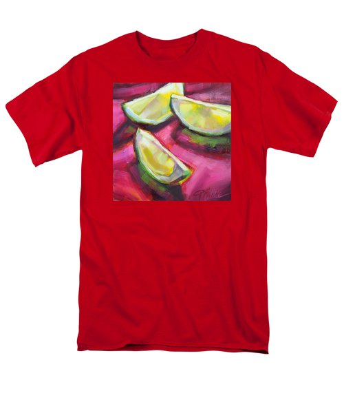 Margarita Limes Men's T-Shirt  (Regular Fit) by Tracy Male
