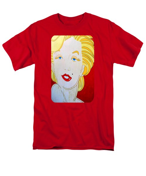 Men's T-Shirt  (Regular Fit) featuring the photograph Marilyn by Ethna Gillespie