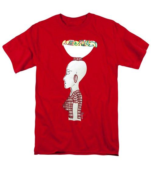 Market Woman1 Men's T-Shirt  (Regular Fit) by Gerri McCritty