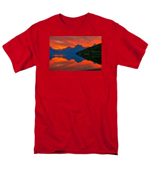 Men's T-Shirt  (Regular Fit) featuring the photograph Mcdonald Sunrise by Greg Norrell