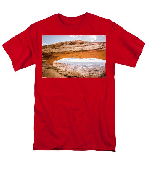 Mesa Arch Sunrise Men's T-Shirt  (Regular Fit) by JR Photography