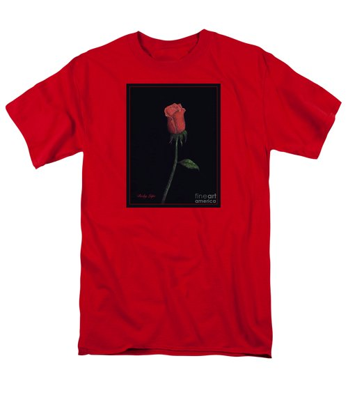 The Perfect Rose 2 Men's T-Shirt  (Regular Fit) by Becky Lupe