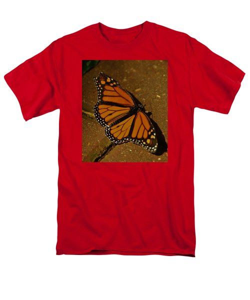 Men's T-Shirt  (Regular Fit) featuring the photograph Monarch Butterfly by Ramona Whiteaker