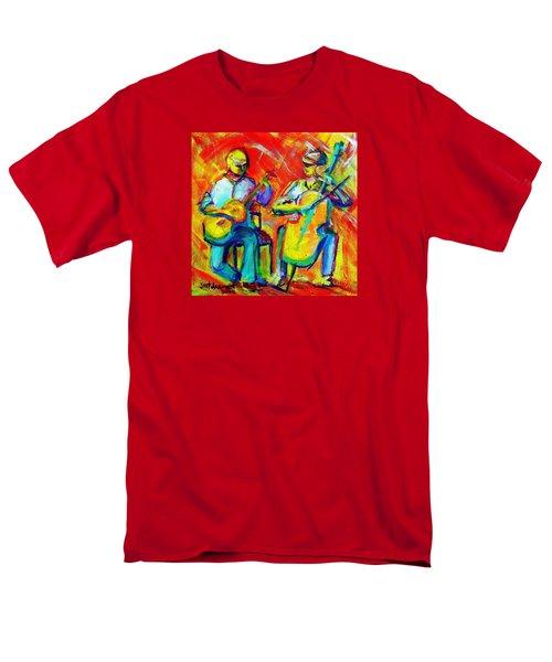 Montana Skies Performance Men's T-Shirt  (Regular Fit) by Jeanette Jarmon
