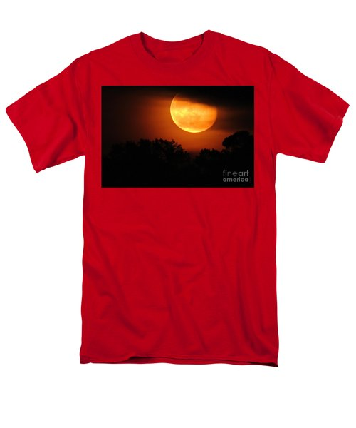 Moon Rise Men's T-Shirt  (Regular Fit) by Shelia Kempf