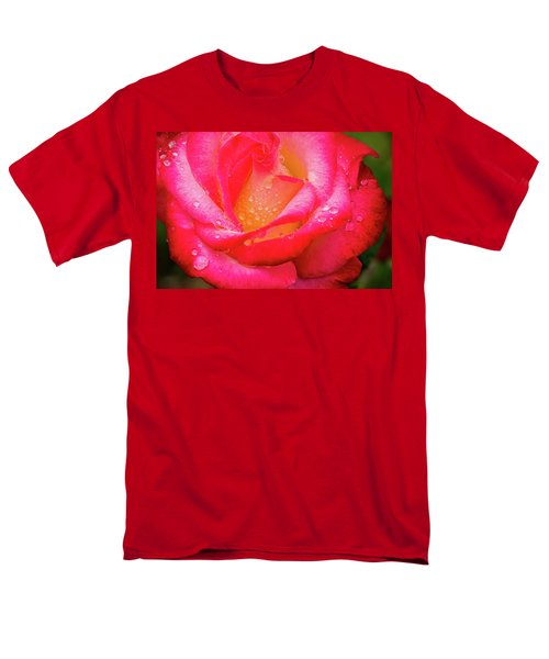 Morning Rose For You Men's T-Shirt  (Regular Fit) by Ken Stanback